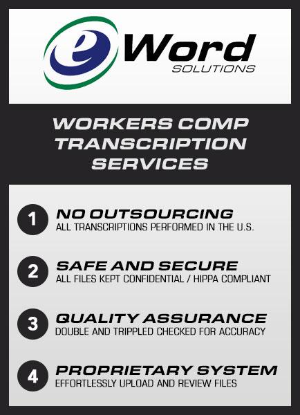 workers comp transcription services